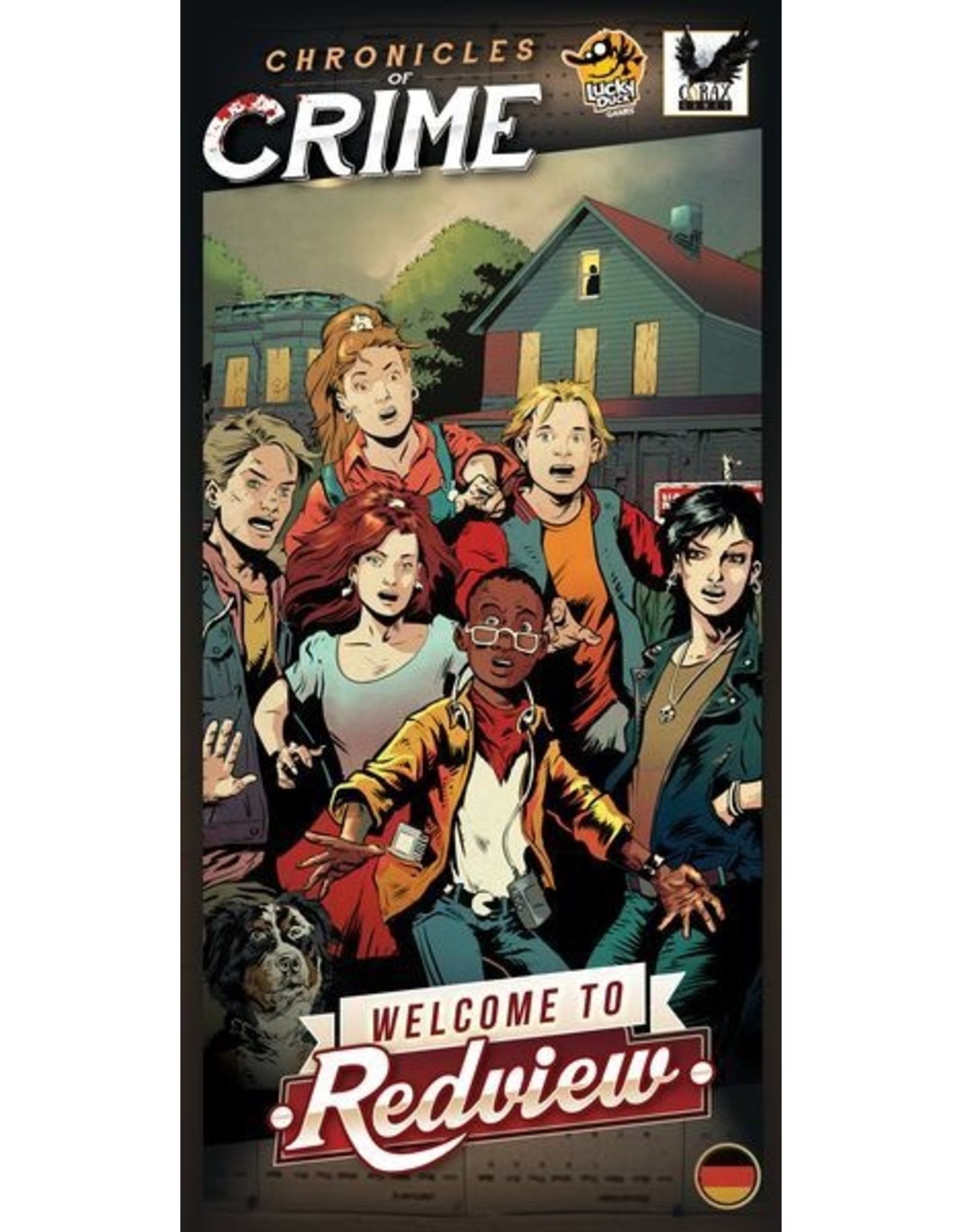 Lucky Duck Games Chronicles of Crime: Welcome to Redview Expansion