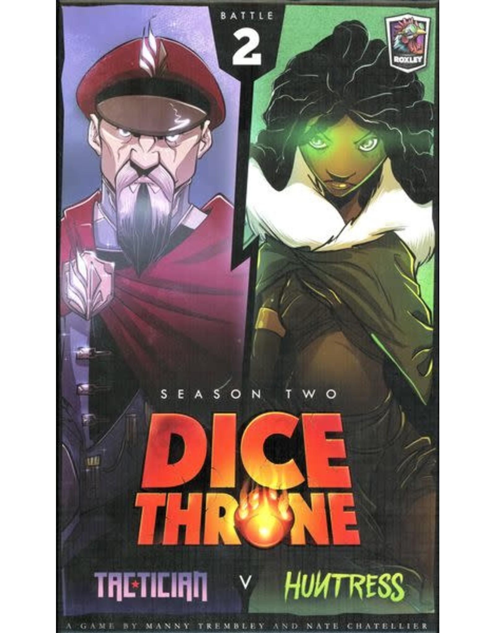 Roxley Dice Throne: Season 2 - Box 2 – Tactician v. Huntress