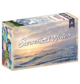 Pencil First Games Sunset Over Water Card Game