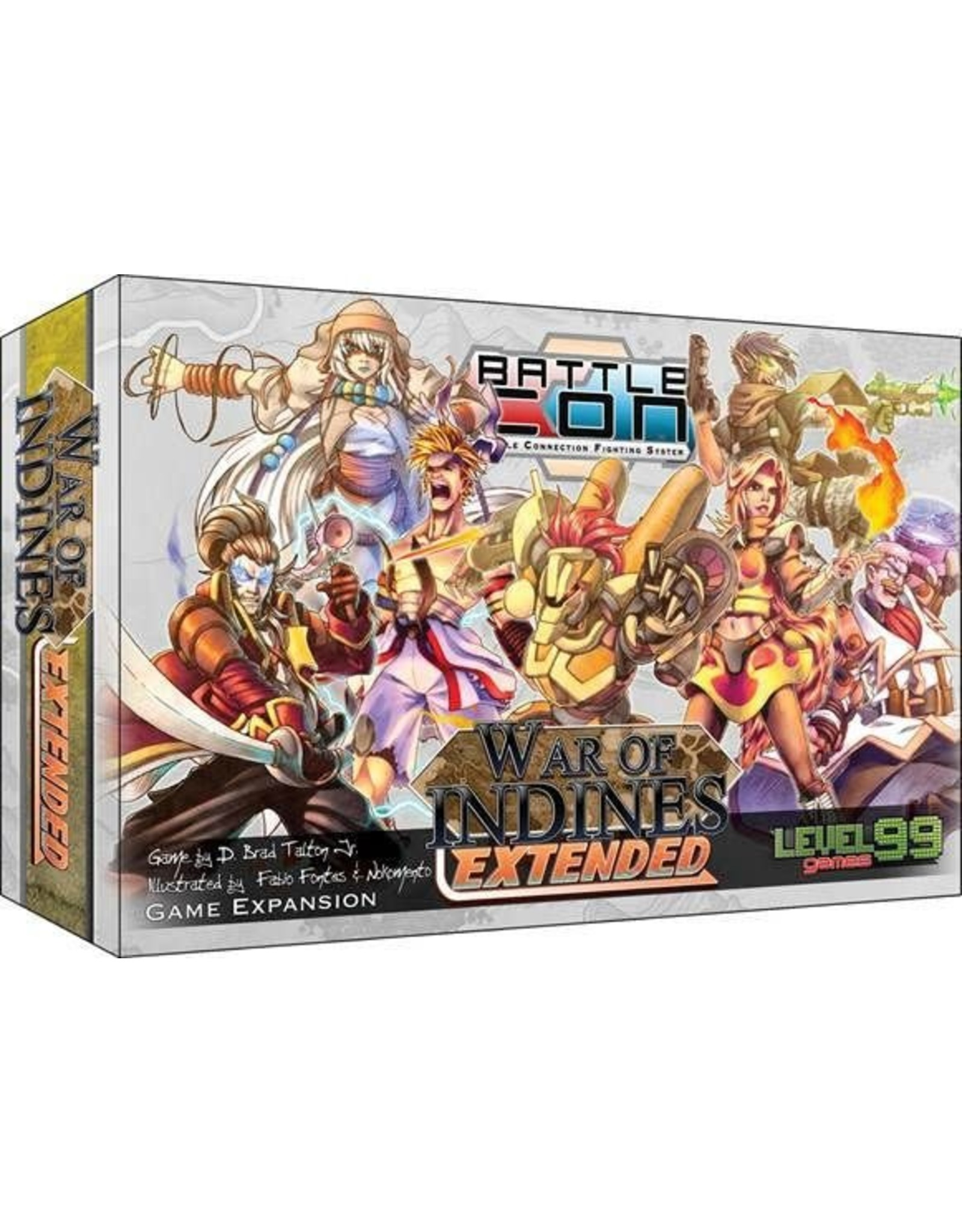 Level 99 Games BattleCON: War of Indines Extended Expansion