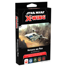Fantasy Flight Games Star Wars X-Wing: 2nd Edition - Hotshots and Aces Reinforcements Pack