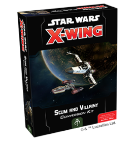 Fantasy Flight Games Star Wars X-Wing: 2nd Edition - Scum and Villainy Conversion Kit