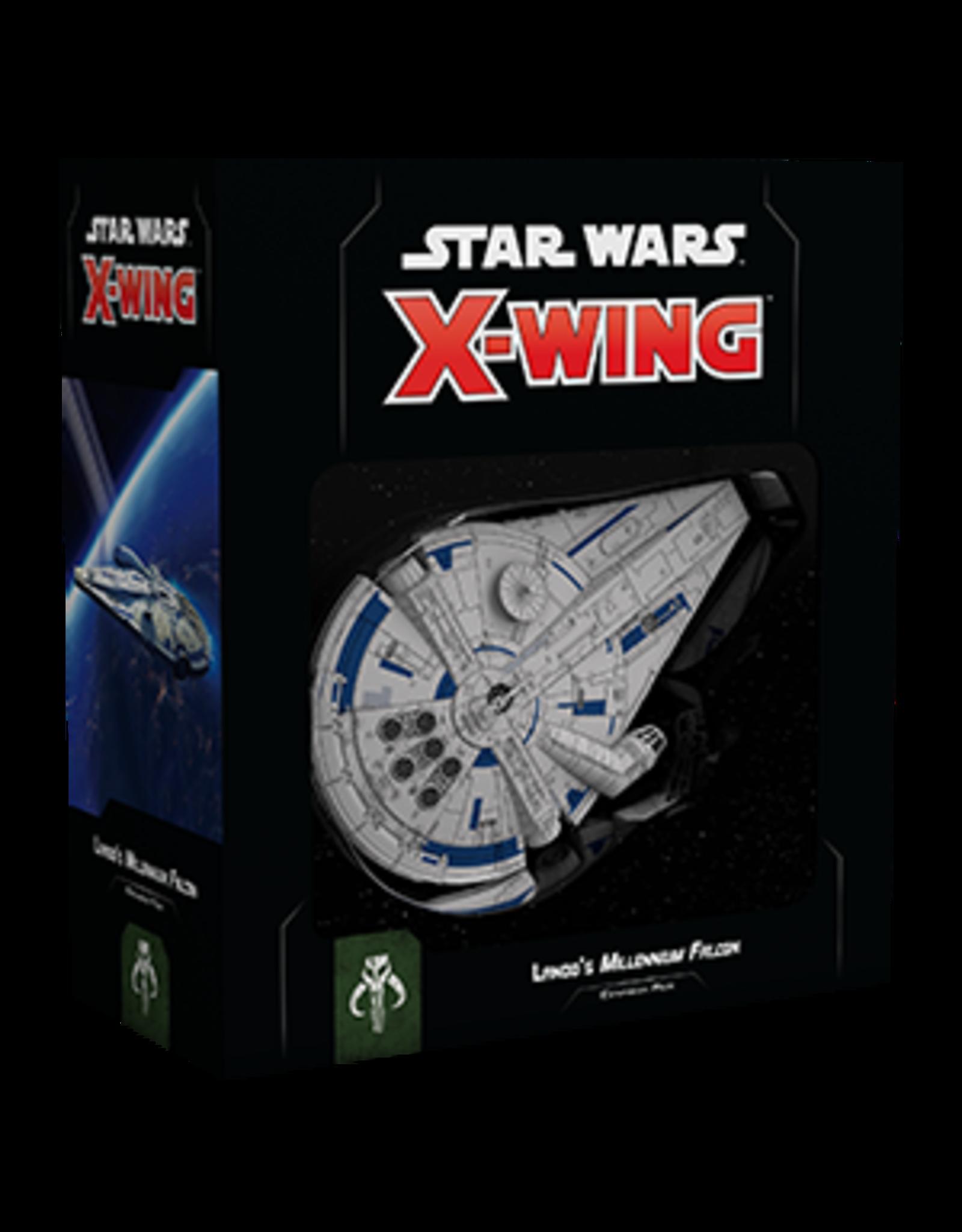 Fantasy Flight Games Star Wars X-Wing: 2nd Edition - Lando`s Millennium Falcon Expansion Pack