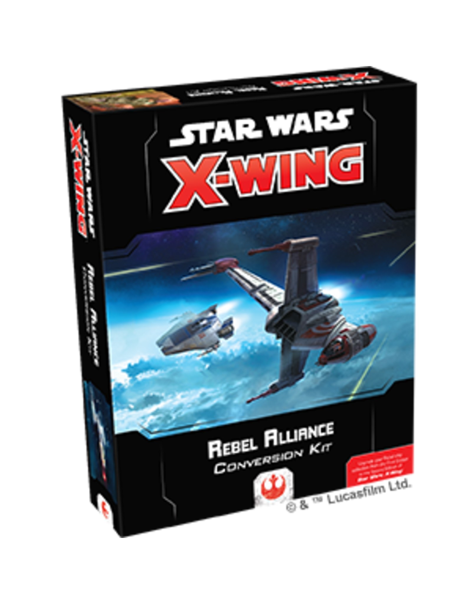 Fantasy Flight Games Star Wars X-Wing: 2nd Edition - Rebel Alliance Conversion Kit