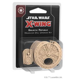 Fantasy Flight Games Star Wars X-Wing: 2nd Edition - Galactic Republic Maneuver Dial Upgrade Kit