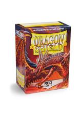 Arcane Tinmen Dragon Shields: (100) Matte Red