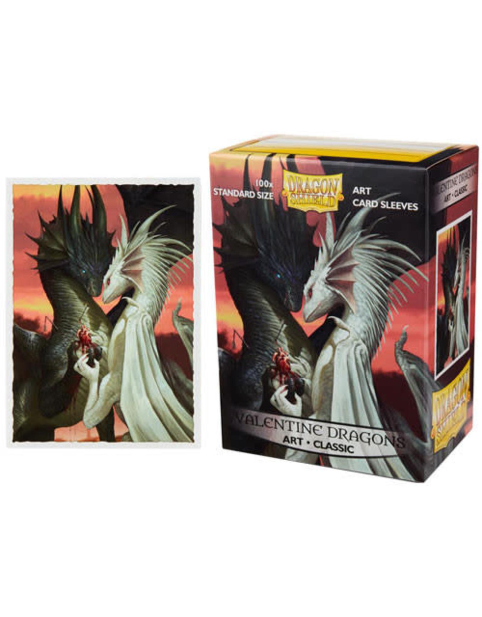 Dragon Shield Dragon Shields: (100) Art - Valentine Dragon