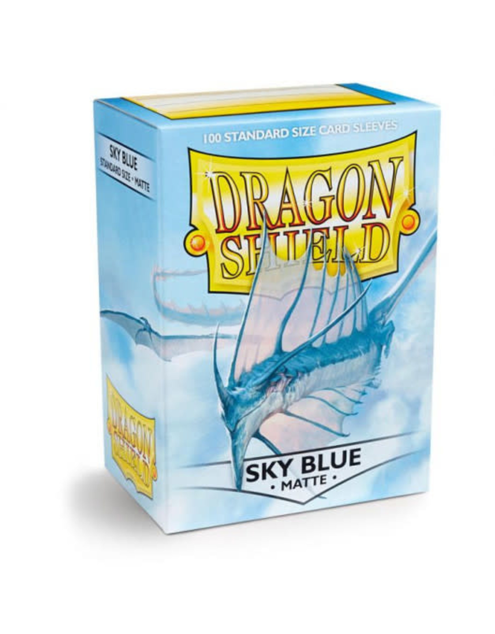 Dragon Shield Dragon Shields: (100) Matte Sky Blue