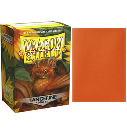 Dragon Shield Dragon Shields: (100) Matte Tangerine