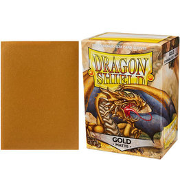 Dragon Shield Dragon Shields: (100) Matte Gold