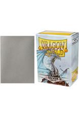 Dragon Shield Dragon Shields: (100) Matte Silver