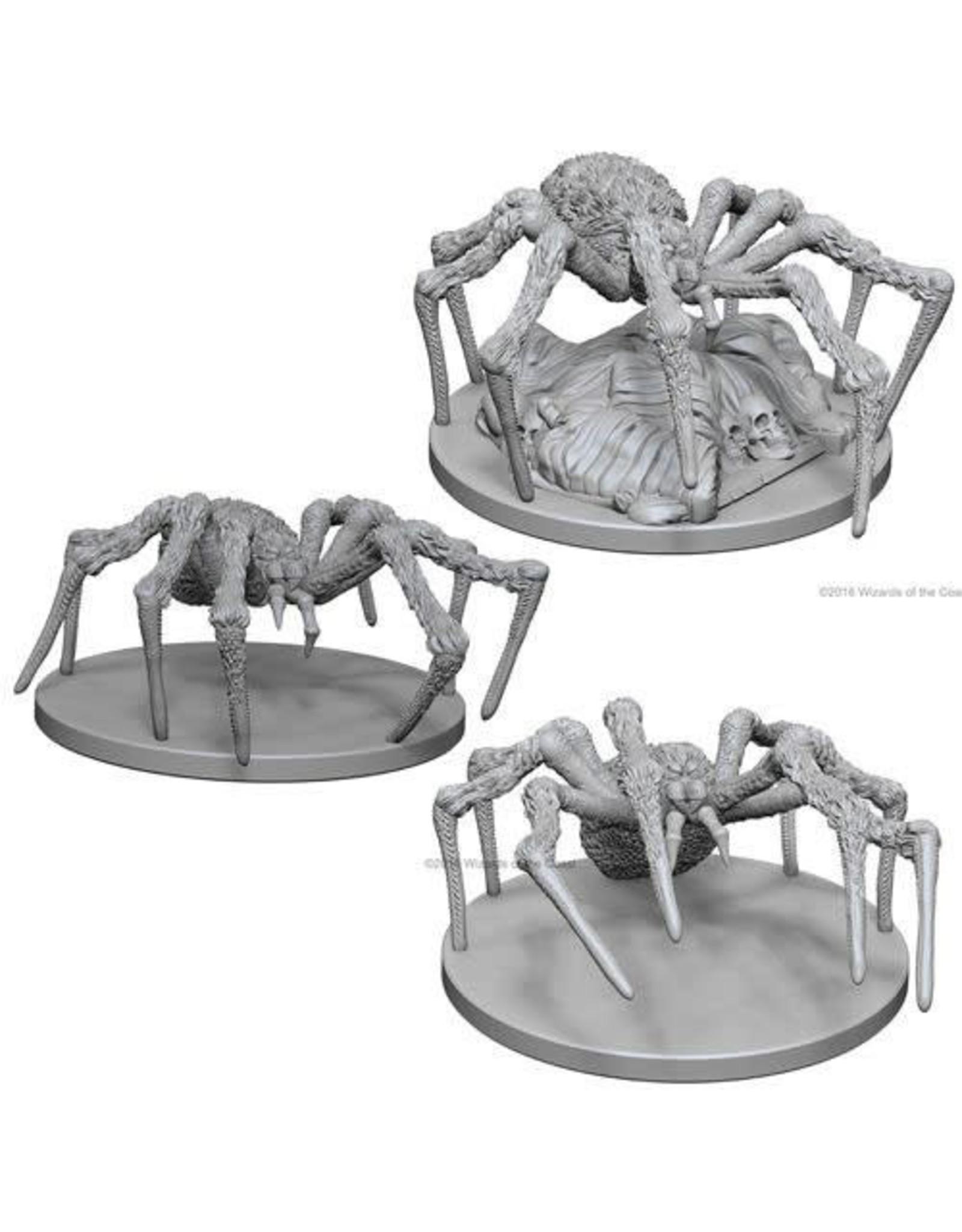 WizKids Dungeons & Dragons Nolzur`s Marvelous Unpainted Miniatures: W1 Spiders