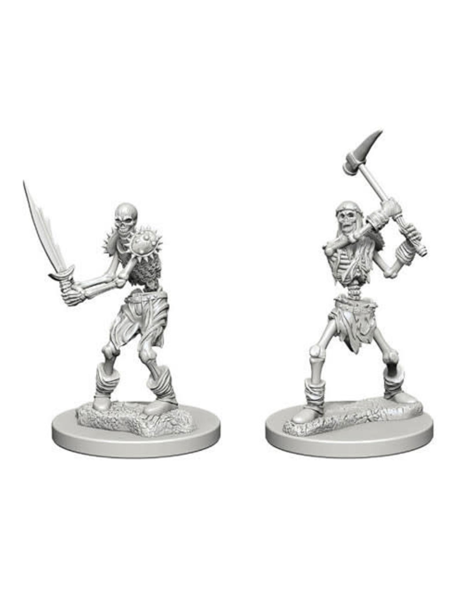 WizKids Dungeons & Dragons Nolzur`s Marvelous Unpainted Miniatures: W1 Skeletons