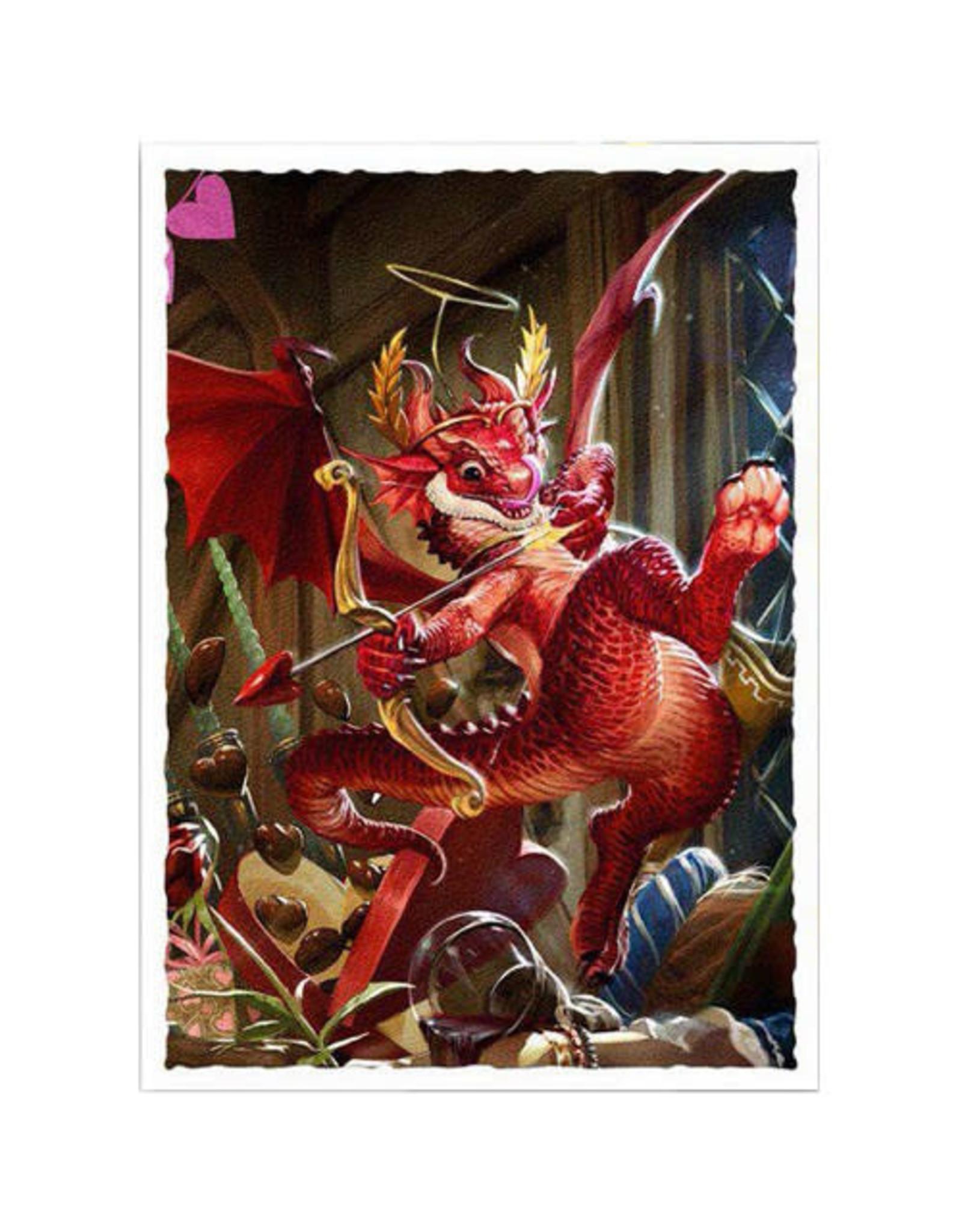 Dragon Shield Dragon Shields: (100) Matte Art - Valentine Dragon