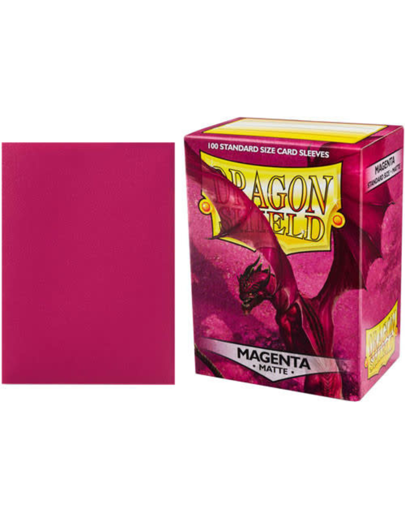Dragon Shield Dragon Shields: (100) Matte Magenta