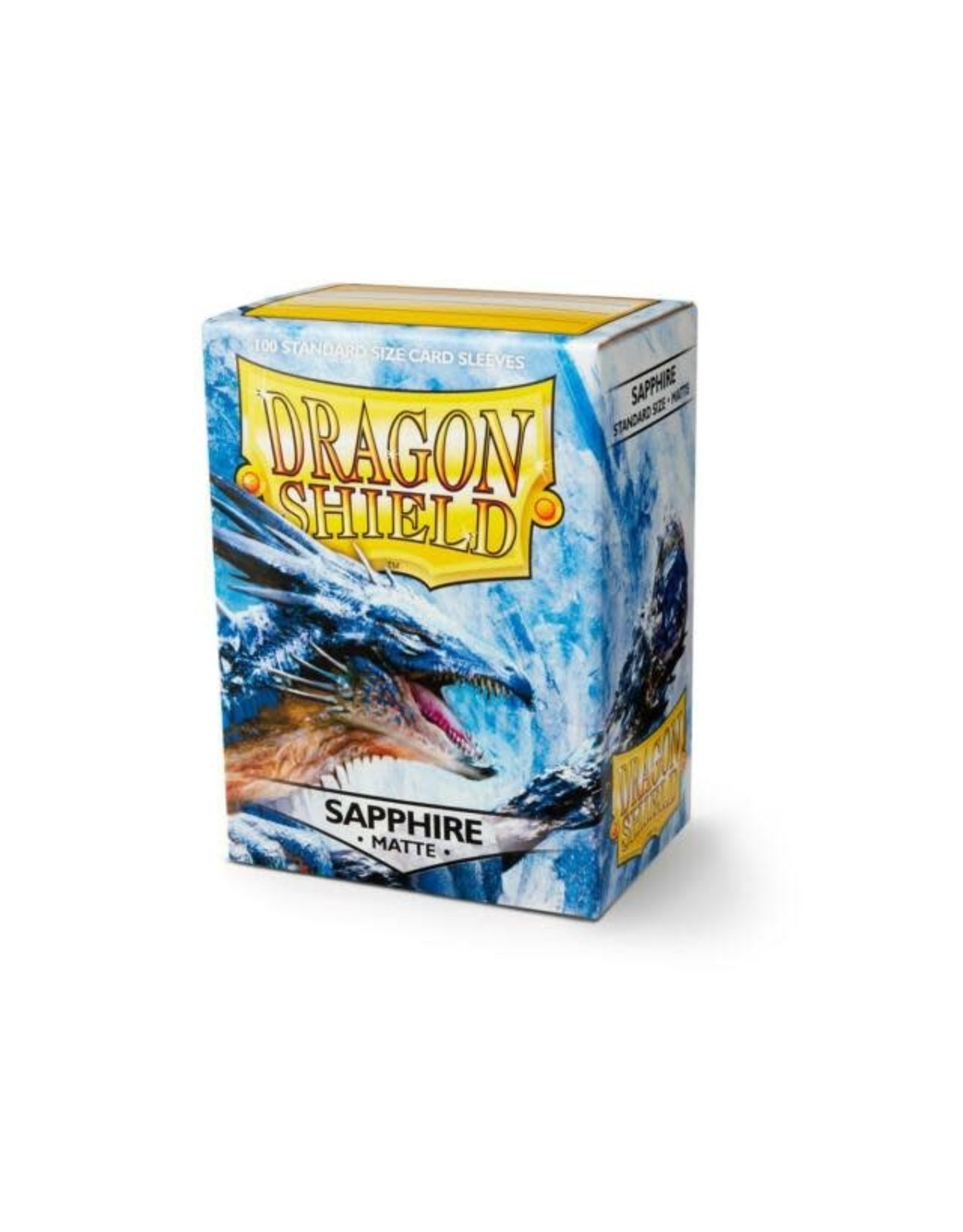 Dragon Shield Dragon Shields: (100) Matte Sapphire