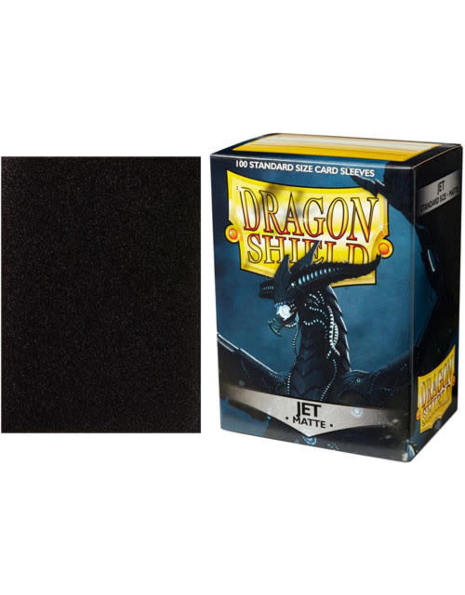 Dragon Shield Dragon Shields: (100) Matte Jet