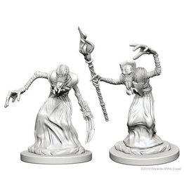 WizKids Dungeons & Dragons Nolzur`s Marvelous Unpainted Miniatures: W1 Mindflayers