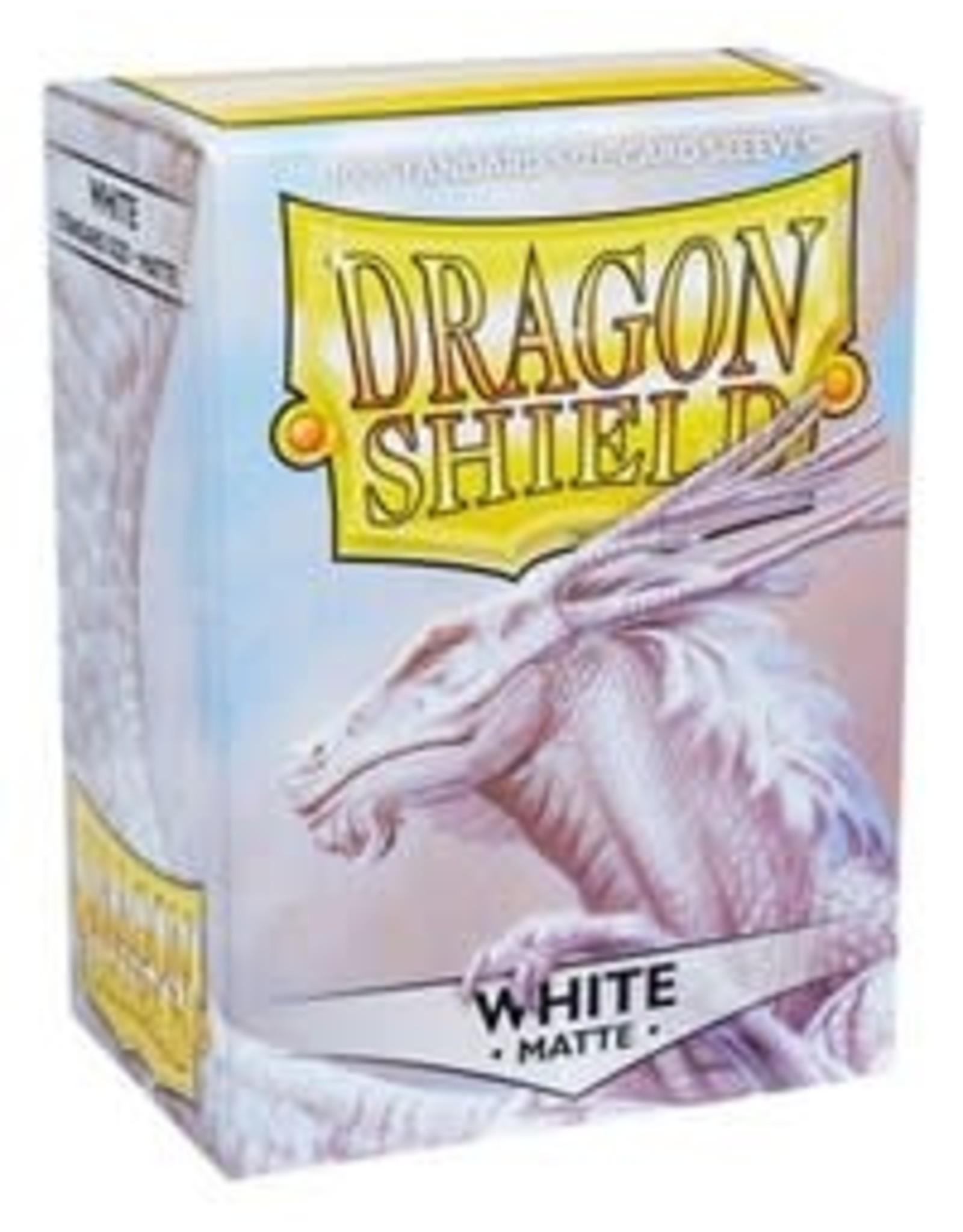 Dragon Shield Dragon Shields: (100) Matte White