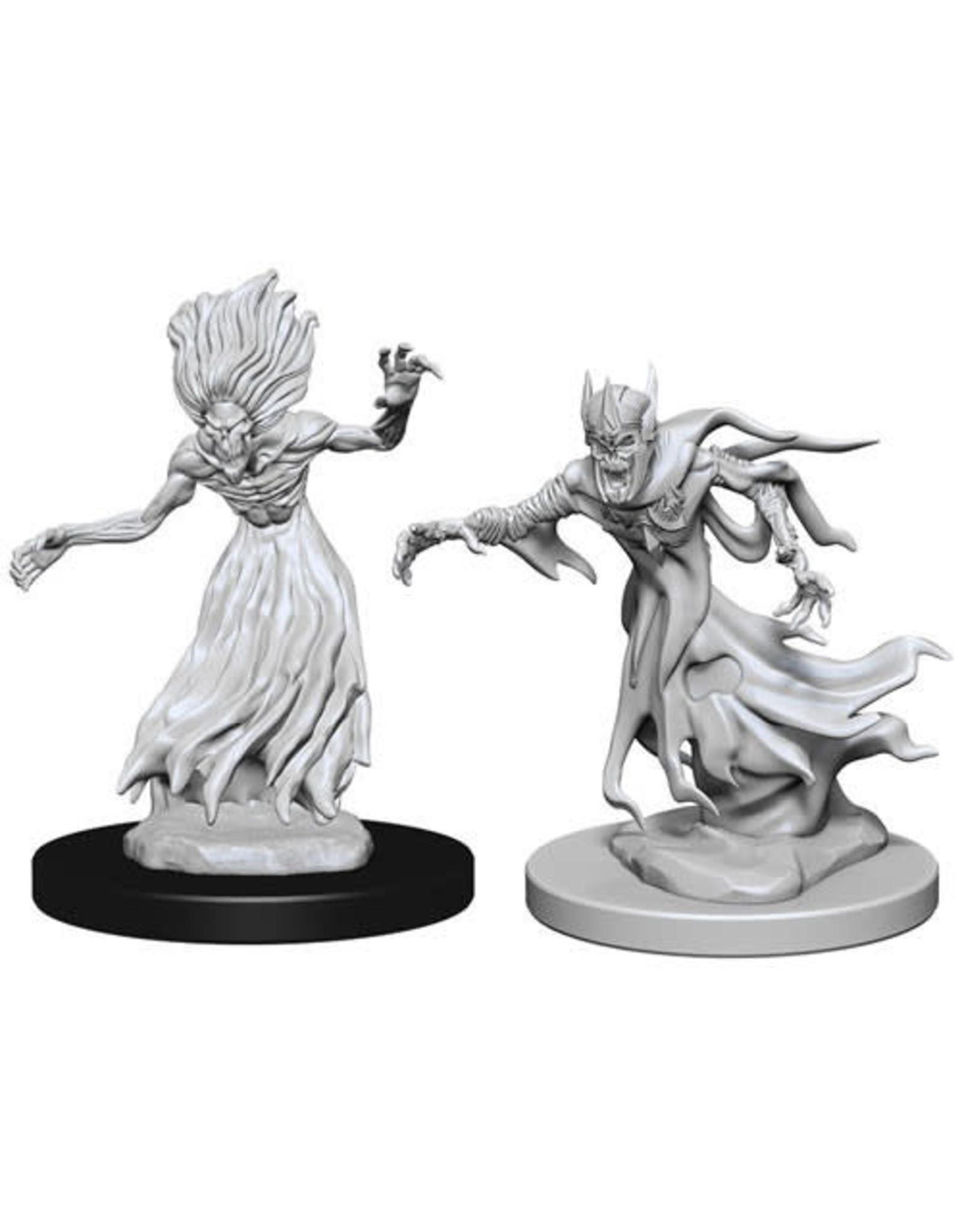 WizKids Dungeons & Dragons Nolzur`s Marvelous Unpainted Miniatures: W3 Wraith & Specte