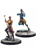Atomic Mass Games Marvel: Crisis Protocol - Shuri and Okoye Character Pack