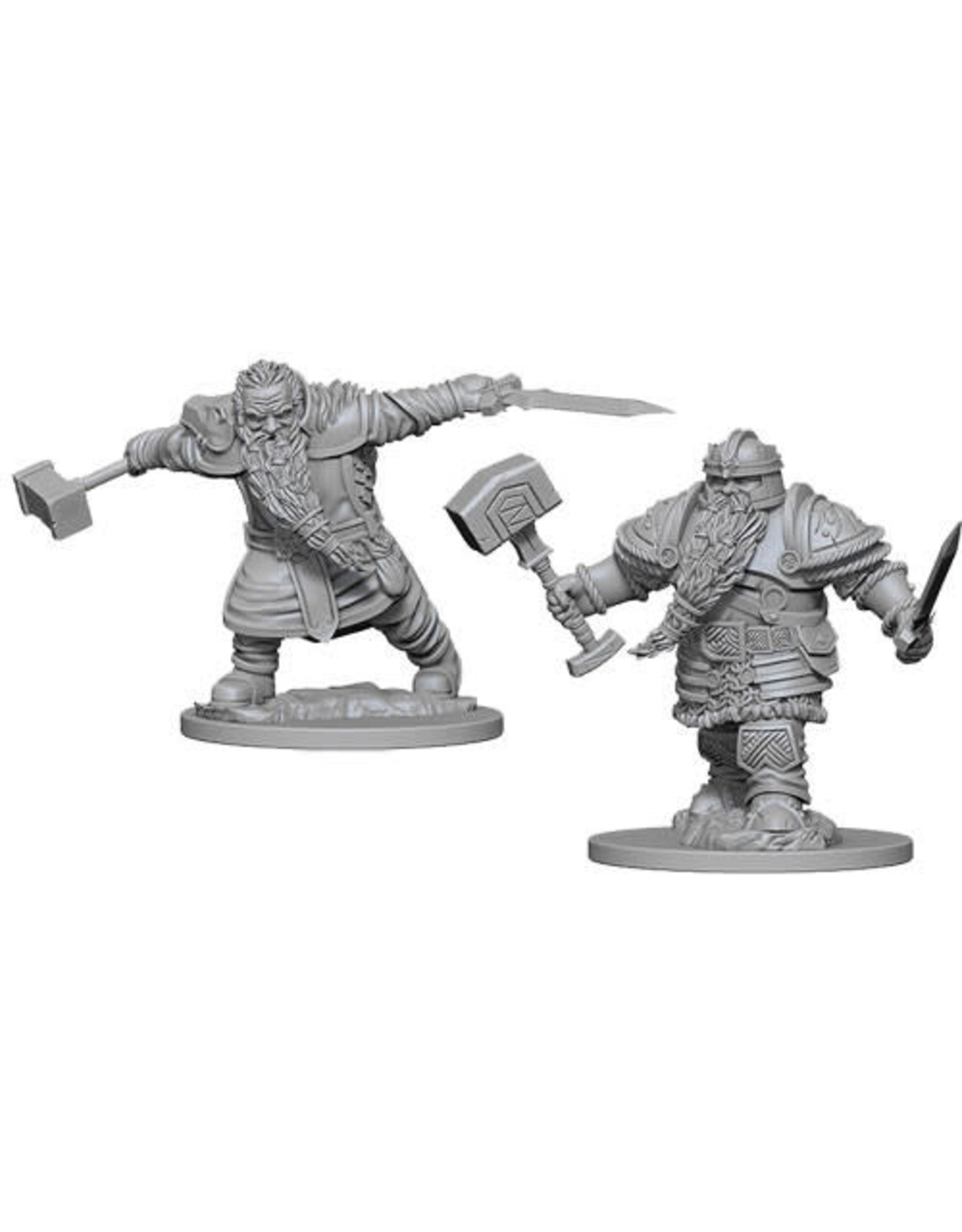 WizKids Dungeons & Dragons Nolzur`s Marvelous Unpainted Miniatures: W1 Dwarf Male Fighter