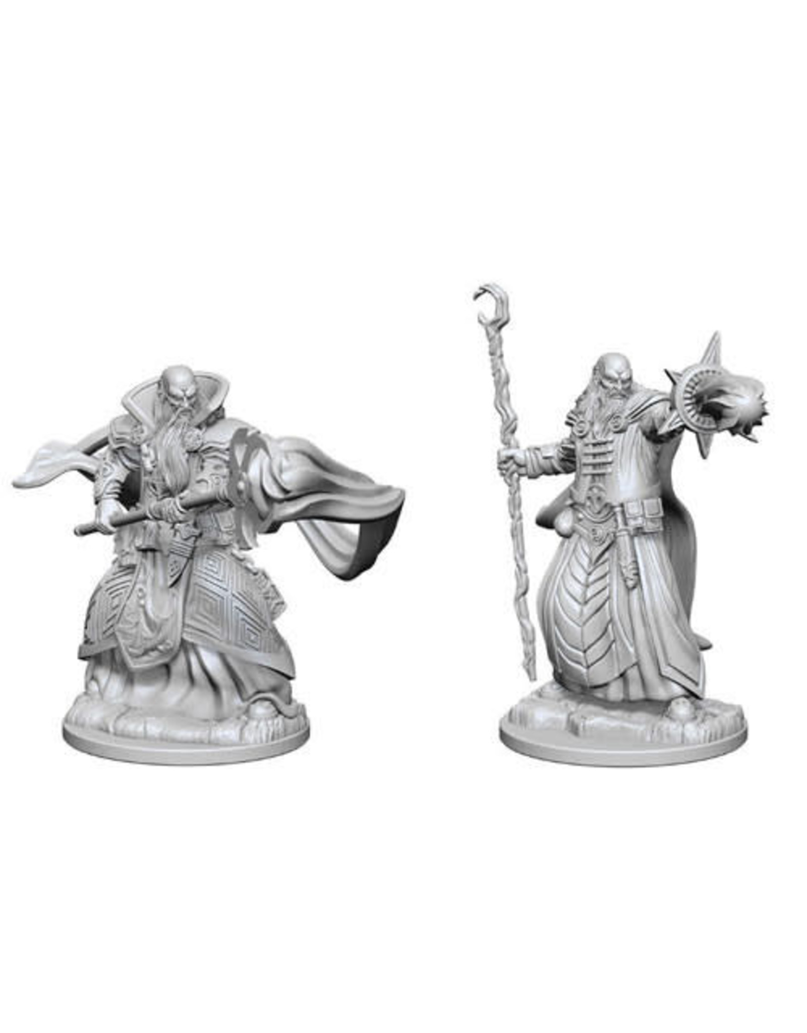 WizKids Dungeons & Dragons Nolzur`s Marvelous Unpainted Miniatures: W1 Human Male Wizard