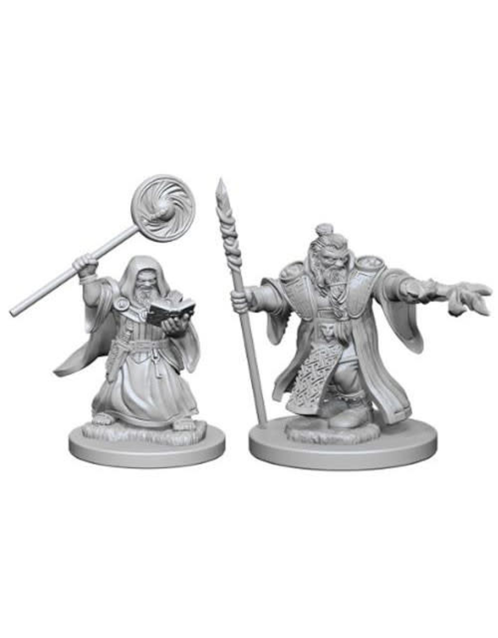 WizKids Dungeons & Dragons Nolzur`s Marvelous Unpainted Miniatures: W1 Dwarf Male Wizard