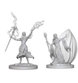 WizKids Dungeons & Dragons Nolzur`s Marvelous Unpainted Miniatures: W3 Elf Female Wizard