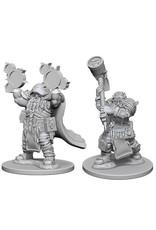 WizKids Dungeons & Dragons Nolzur`s Marvelous Unpainted Miniatures: W2 Dwarf Male Cleric