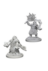 WizKids Dungeons & Dragons Nolzur`s Marvelous Unpainted Miniatures: W4 Dwarf Female Cleric