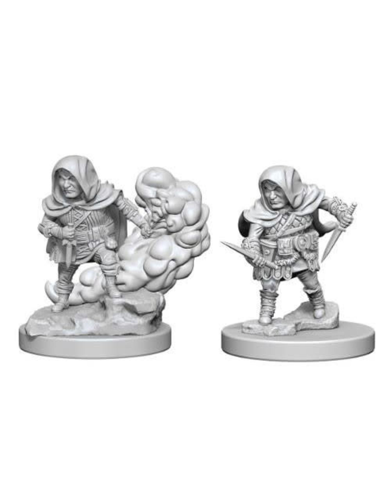 WizKids Dungeons & Dragons Nolzur`s Marvelous Unpainted Miniatures: W1 Halfling Male Rogue
