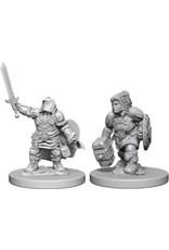 WizKids Dungeons & Dragons Nolzur`s Marvelous Unpainted Miniatures: W3 Dwarf Female Paladin