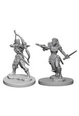 WizKids Dungeons & Dragons Nolzur`s Marvelous Unpainted Miniatures: W1 Elf Female Ranger