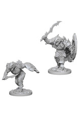 WizKids Dungeons & Dragons Nolzur`s Marvelous Unpainted Miniatures: W4 Dragonborn Male Fighter