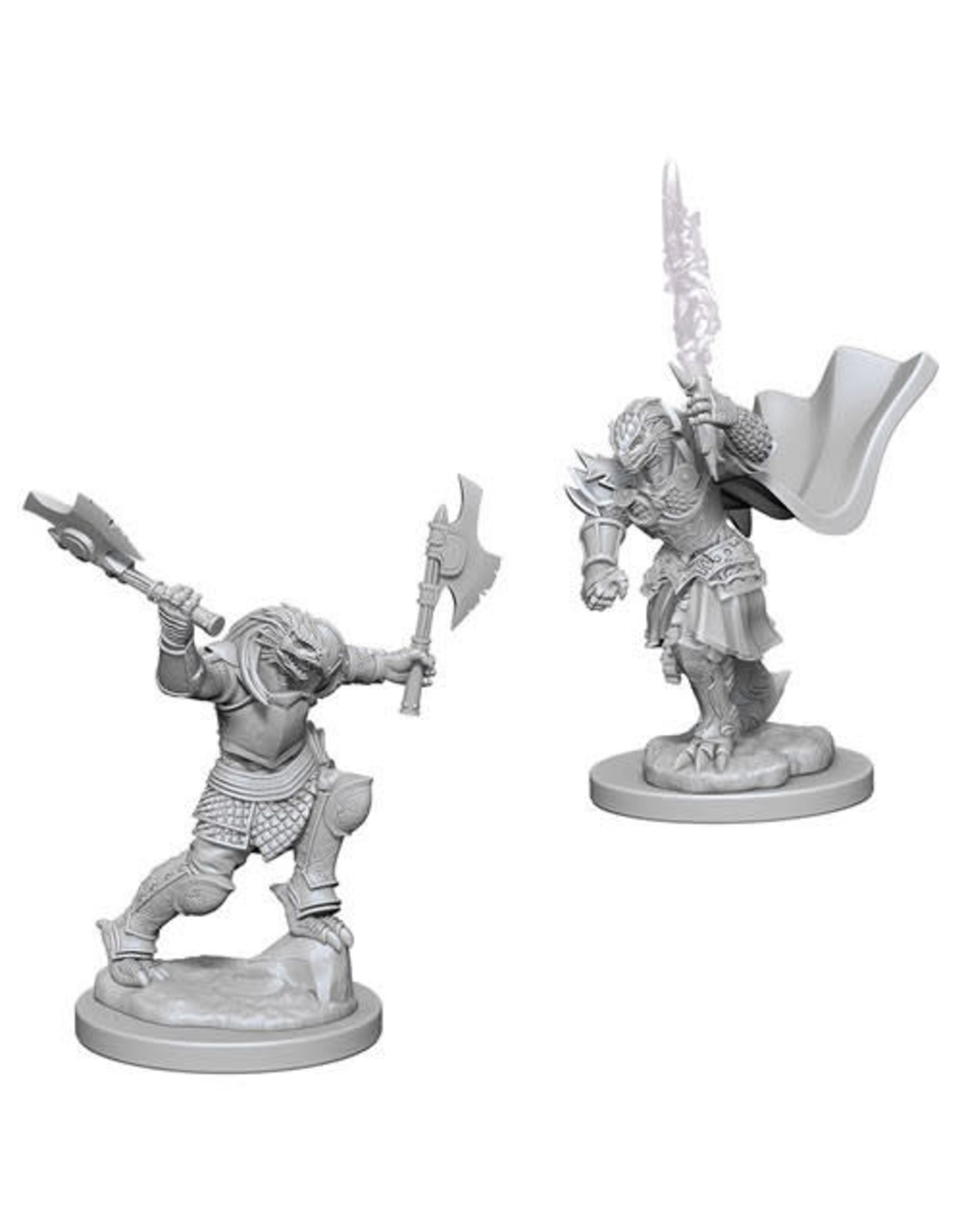 WizKids Dungeons & Dragons Nolzur`s Marvelous Unpainted Miniatures: W4 Dragonborn Female Fighter