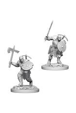 WizKids Dungeons & Dragons Nolzur`s Marvelous Unpainted Miniatures: W4 Earth Genasi Male Fighter