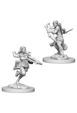WizKids Dungeons & Dragons Nolzur`s Marvelous Unpainted Miniatures: W4 Air Genasi Female Rogue