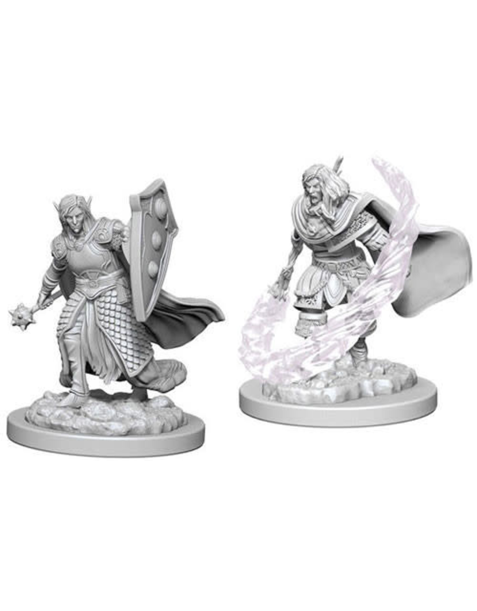 WizKids Dungeons & Dragons Nolzur`s Marvelous Unpainted Miniatures: W5 Elf Male Cleric