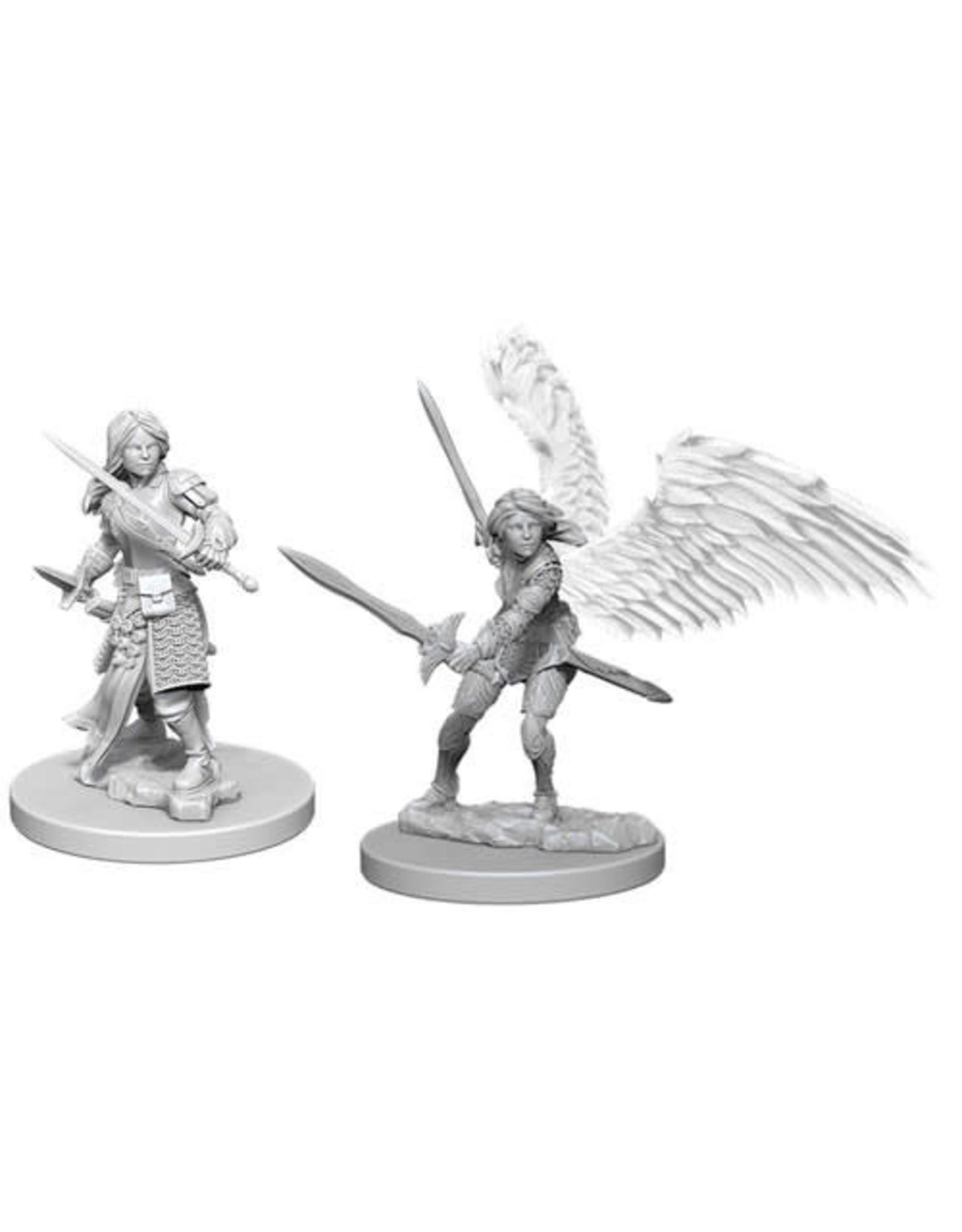 WizKids Dungeons & Dragons Nolzur`s Marvelous Unpainted Miniatures: W5 Aasimar Female Paladin