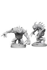 WizKids Dungeons & Dragons Nolzur`s Marvelous Unpainted Miniatures: W5 Grey Slaad & Death Slaad