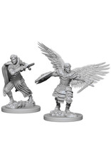 WizKids Dungeons & Dragons Nolzur`s Marvelous Unpainted Miniatures: W6 Male Aasimar Fighter