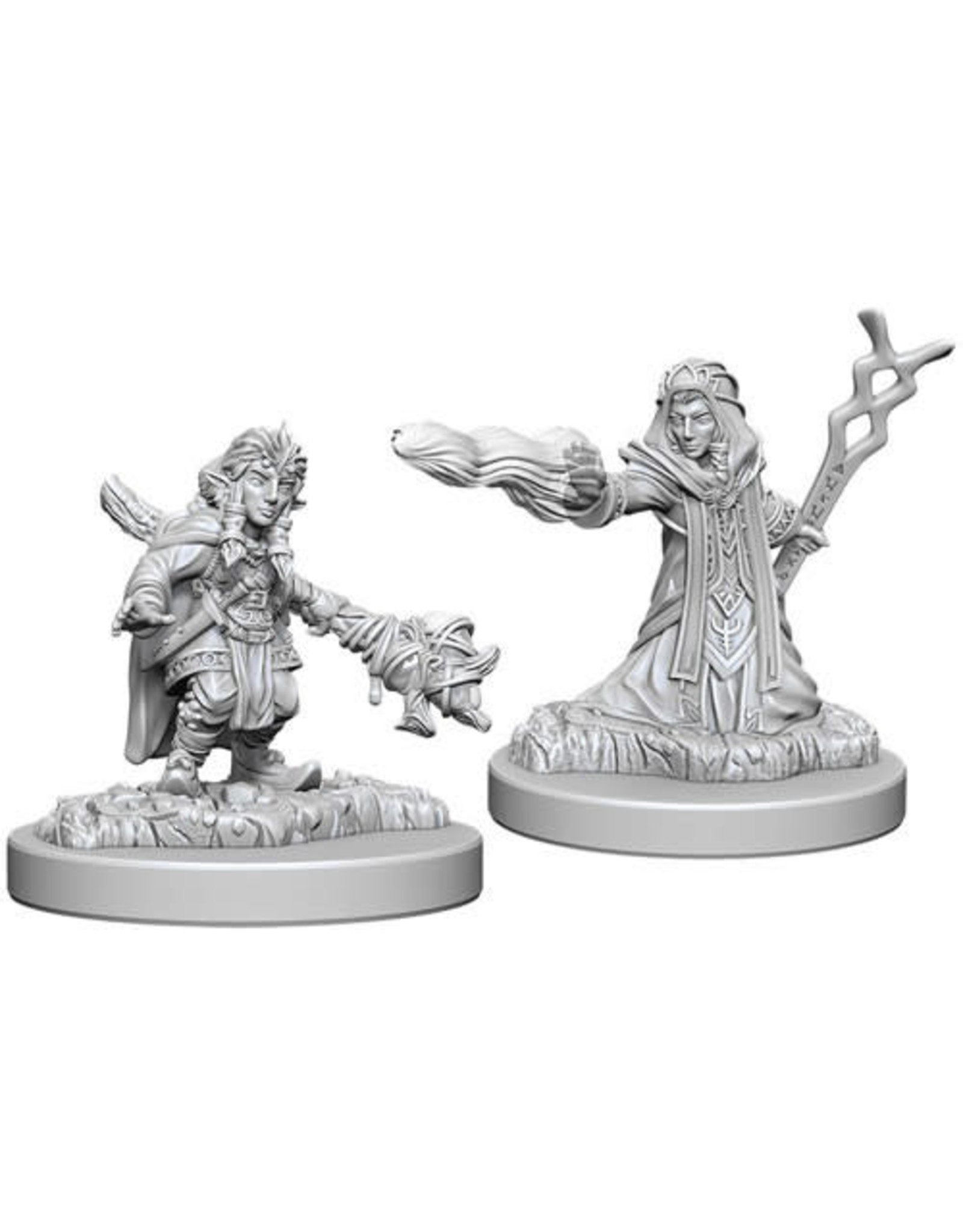 WizKids Dungeons & Dragons Nolzur`s Marvelous Unpainted Miniatures: W6 Female Gnome Wizard