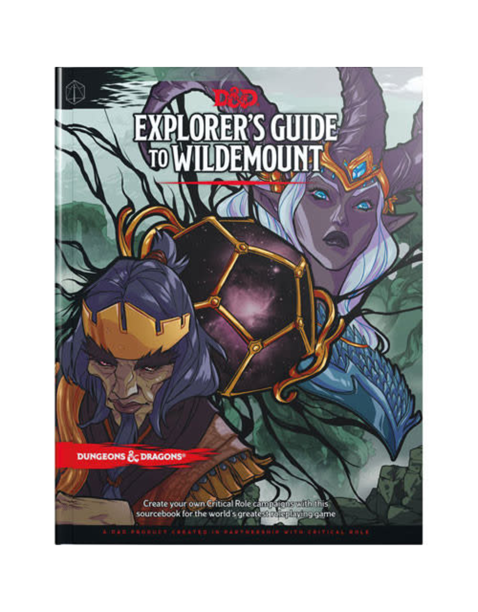 Wizards of the Coast Dungeons and Dragons RPG: Explorer`s Guide to Wildemount