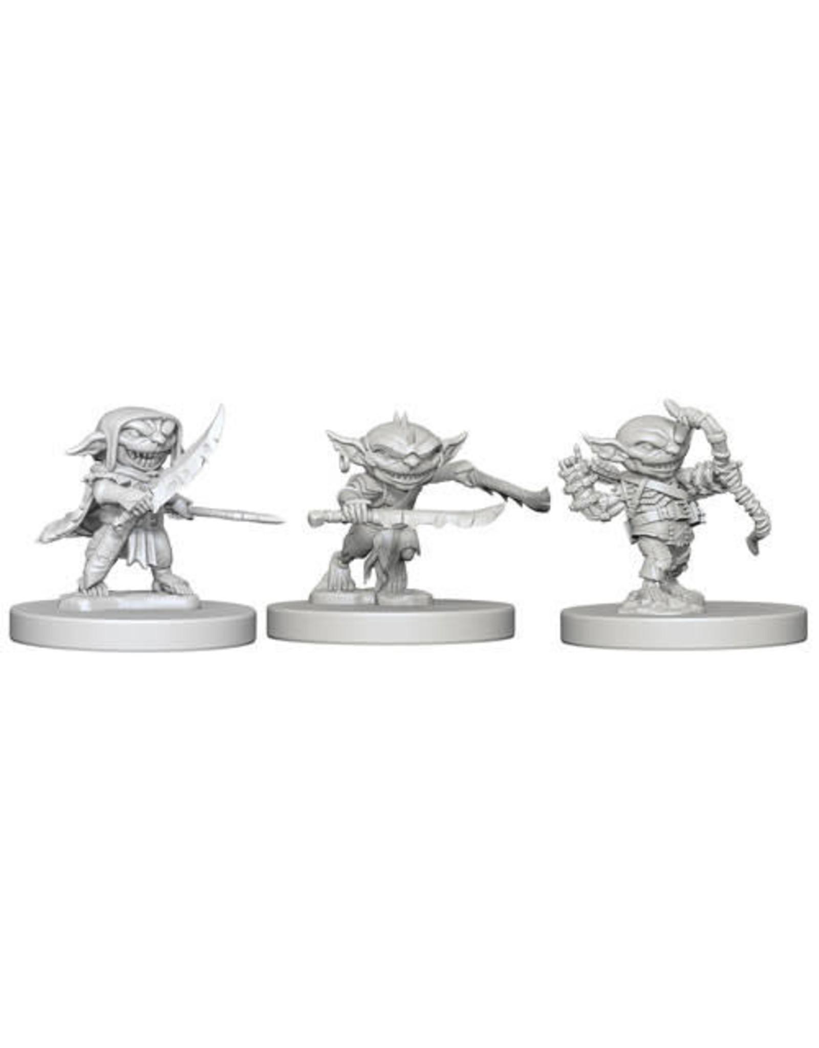WizKids Pathfinder Deep Cuts Unpainted Miniatures: W1 Goblins