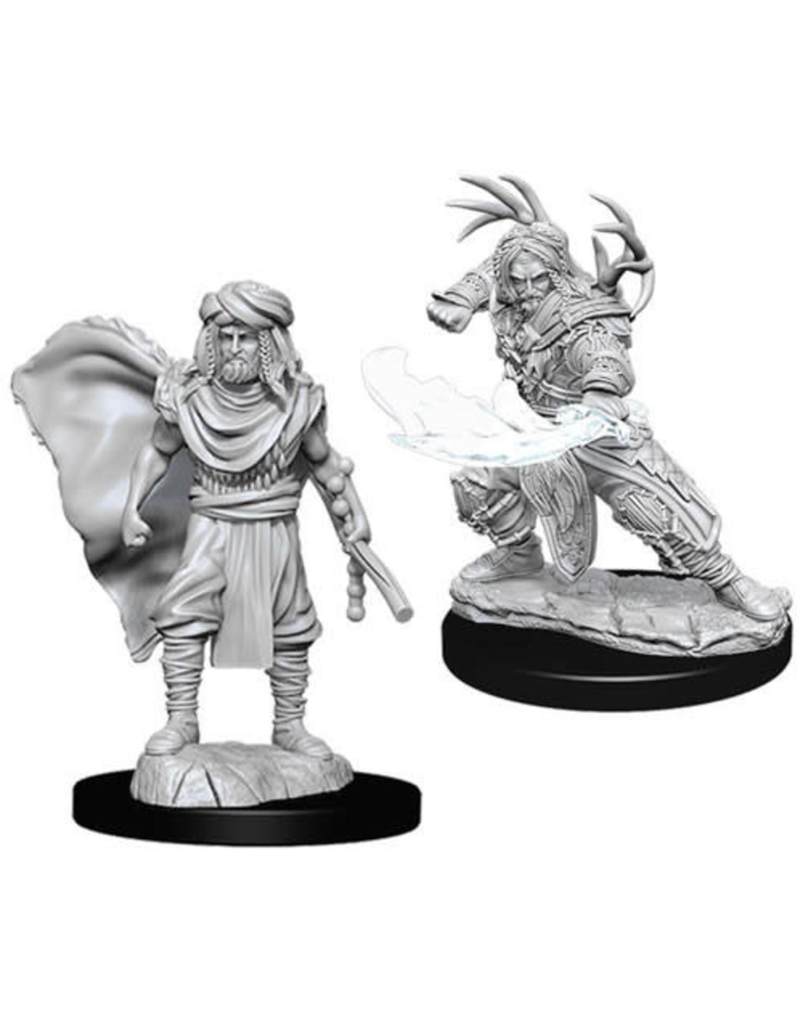 WizKids Dungeons & Dragons Nolzur`s Marvelous Unpainted Miniatures: W6 Male Human Druid