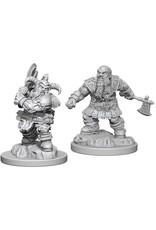 WizKids Dungeons & Dragons Nolzur`s Marvelous Unpainted Miniatures: W6 Dwarf Male Barbarian