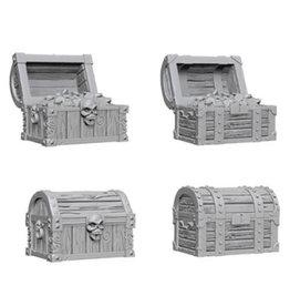 WizKids WizKids Deep Cuts Unpainted Miniatures: W2 Chests
