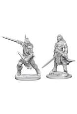 WizKids Pathfinder Deep Cuts Unpainted Miniatures: W1 Human Male Fighter