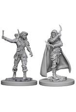WizKids Pathfinder Deep Cuts Unpainted Miniatures: W1 Human Female Rogue